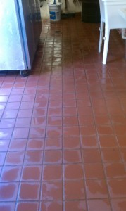 Ceramic tile- Before. Restaurant in Conyers