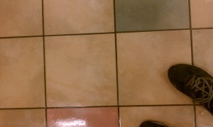 Tile and Grout Cleaning Before